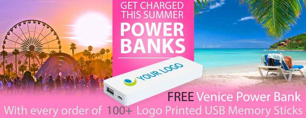 Logo Branded Power Bank Mobile Phone Chargers