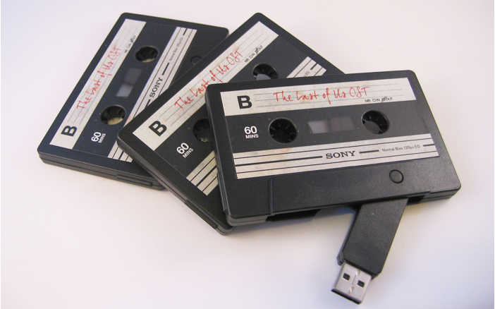 Retro Audio Cassette USB Drive