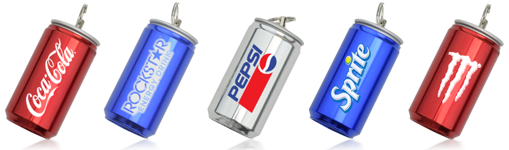 Drinks Can USB Flash Drives