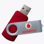 Twister Style USB Drive