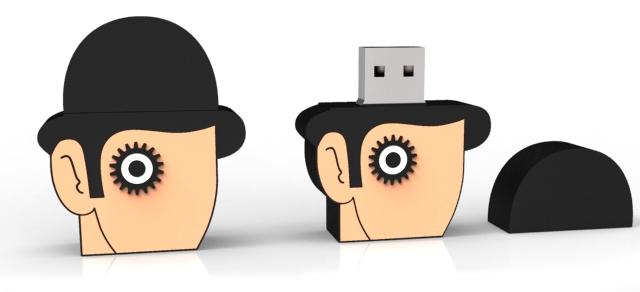 Custom USB Clockwork Orange