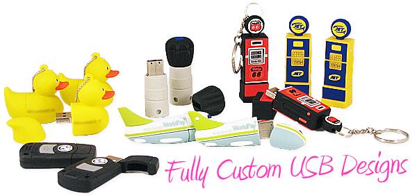 Full Custom USB Drives