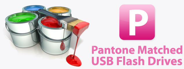 Pantone Matched USB Drives