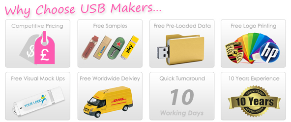 Twister Style USB Makers Services