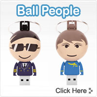 Ball USB People