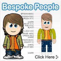 Bespoke USB People