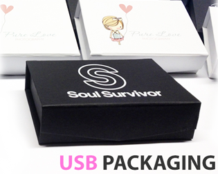 USB Flash Drive Packaging and Boxes
