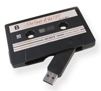 Audio Cassette USB Drive