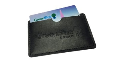 USB Card Faux Leather Wallet