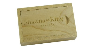 Sliding Wooden Box