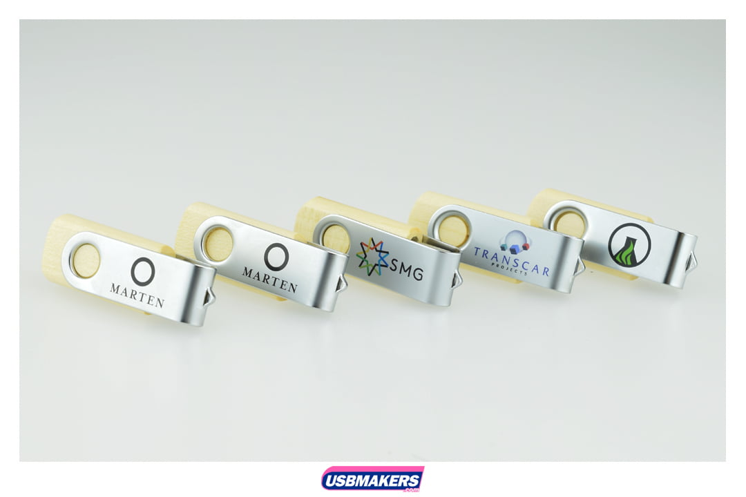 Eco Twister Branded USB Memory Stick Image 4