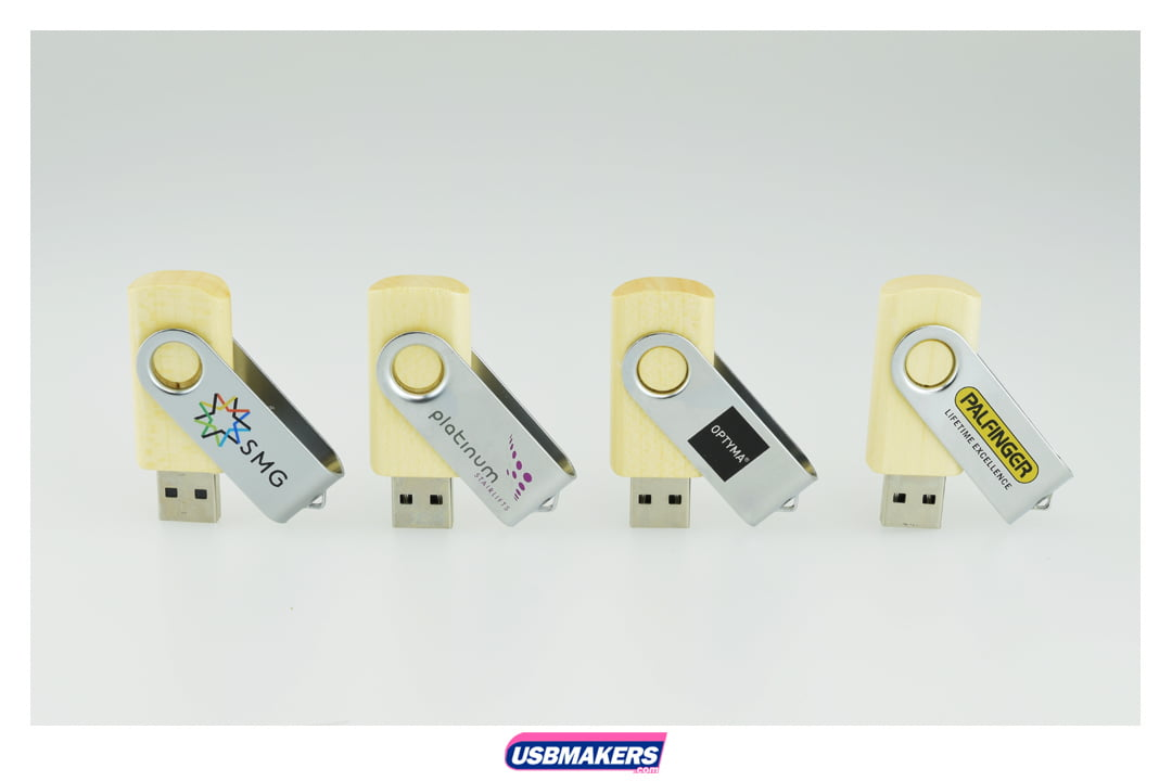 Eco Twister Branded USB Memory Stick Image 6