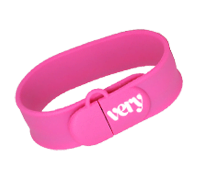 Slap On USB Wristband