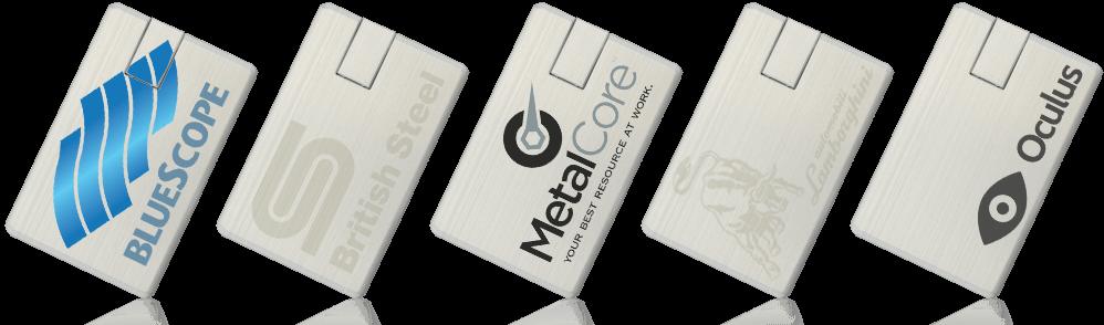 Alloy Card USB Drive