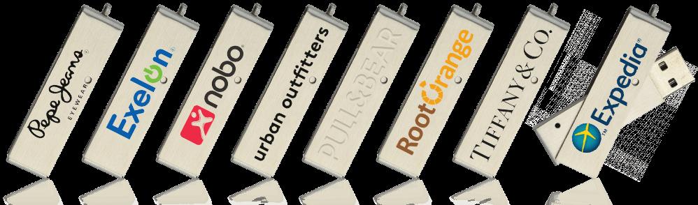 Corporate Twister USB Drive