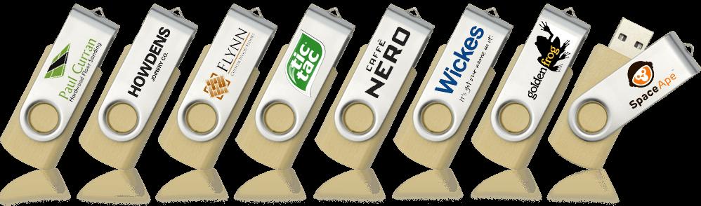 Eco Twister Custom Branded USB Memory Stick