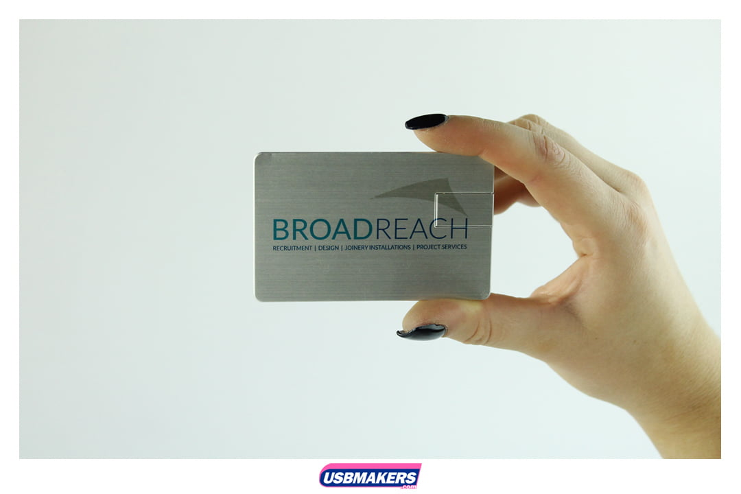 Alloy Card Branded USB Memory Stick Image 3