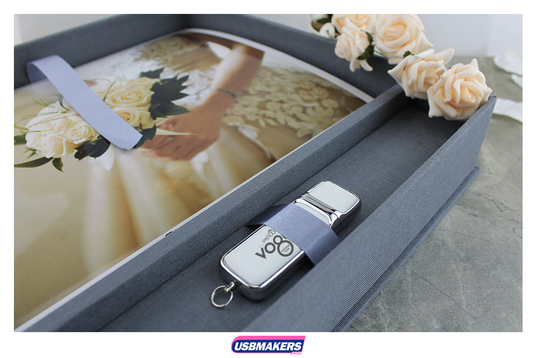 Grande Elegant USB Photo Prints Presentation Box 3
