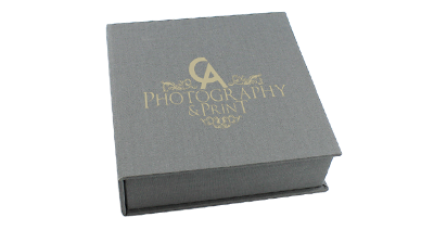 Classic Elegant USB Photo Prints Presentation Box