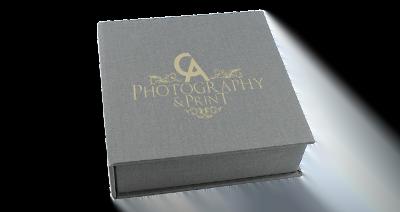 Classic Elegant USB Photo Prints Presentation Box