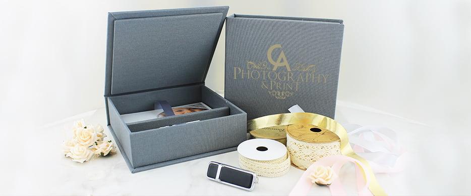 Classic Elegant USB Gift Box