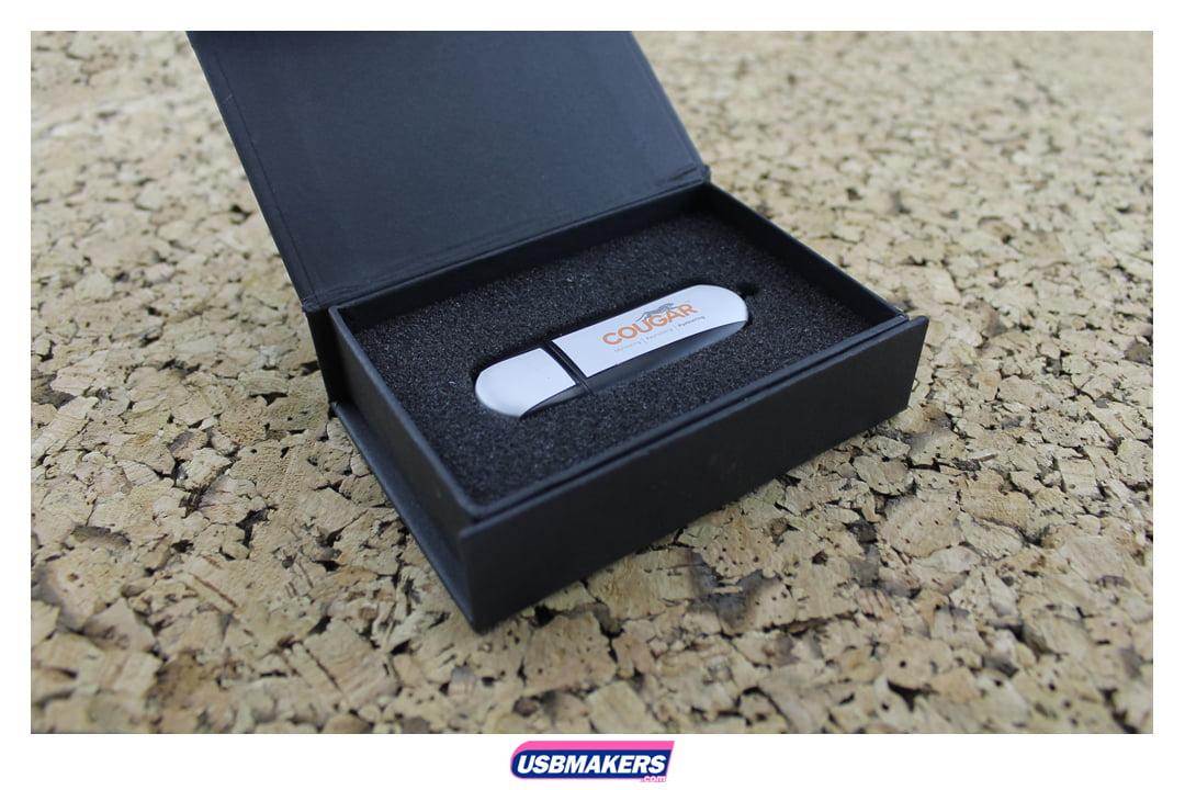 Oval Aluminium Branded USB Memory Stick Image 2