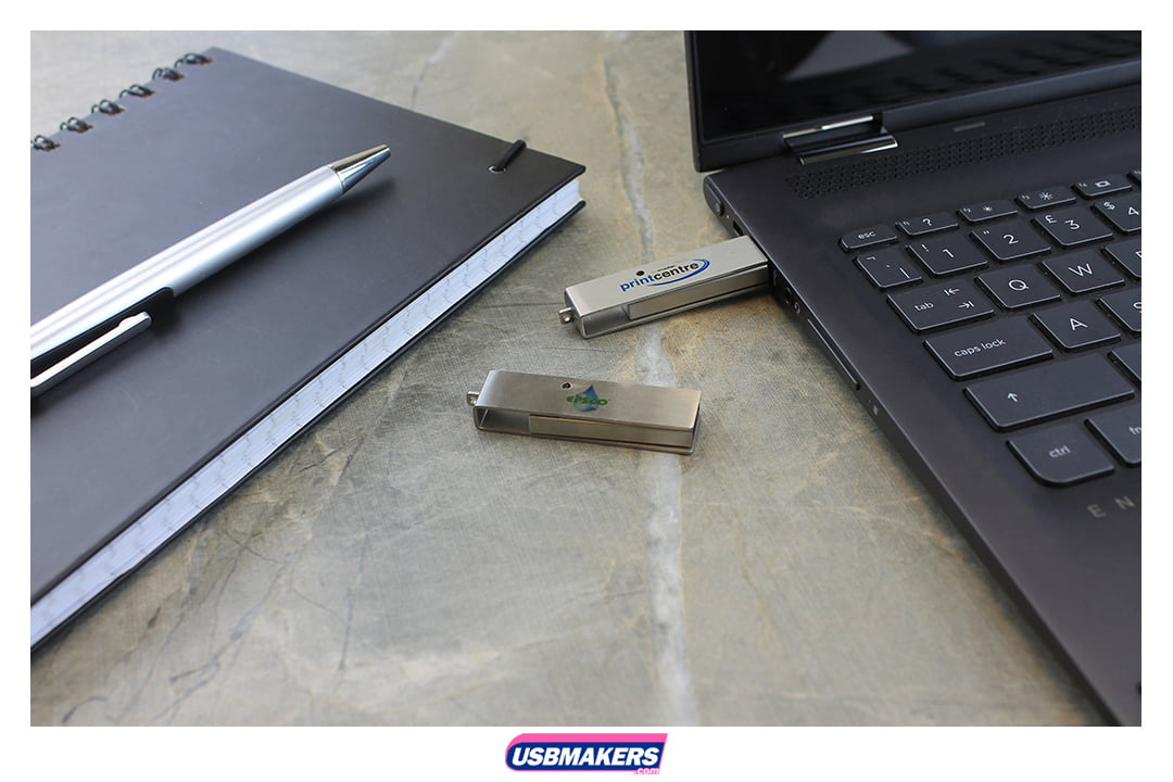 Corporate Twister Branded USB Memory Stick Image 1