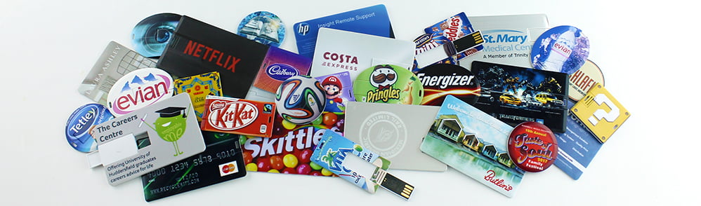 Credit Card USB Memory Sticks