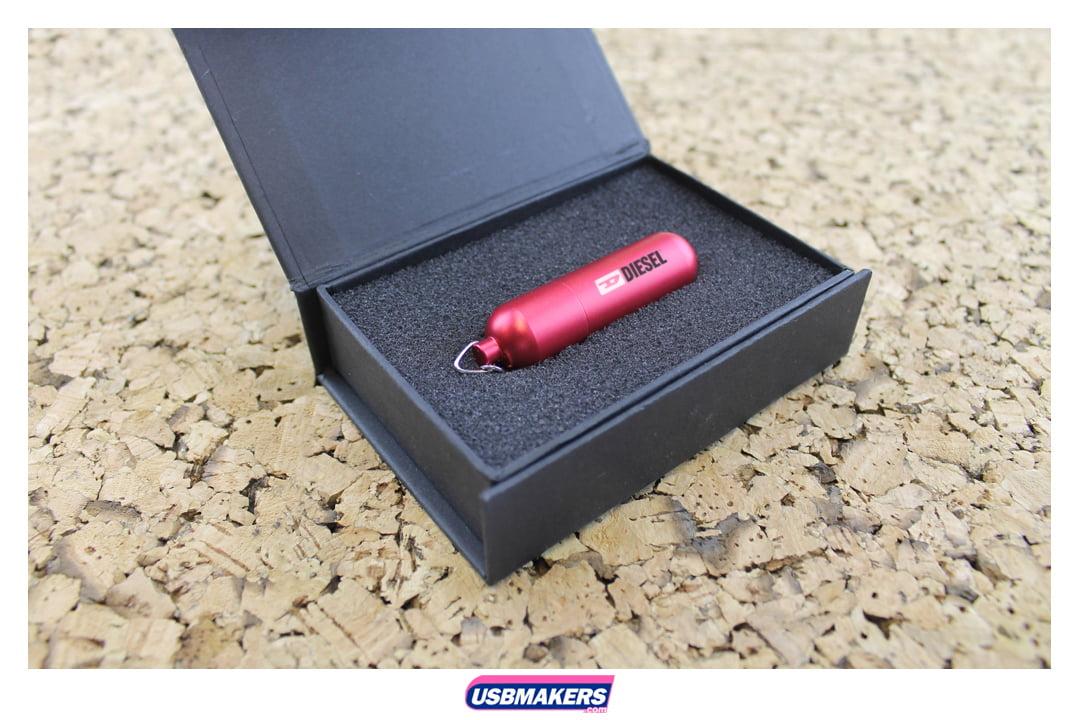 Cylinder Branded USB Memory Stick Image 2