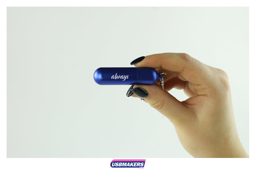 Cylinder Branded USB Memory Stick Image 3