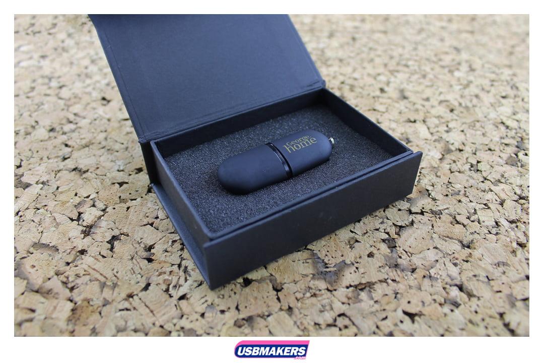 Flat Pod Branded USB Memory Stick Image 2