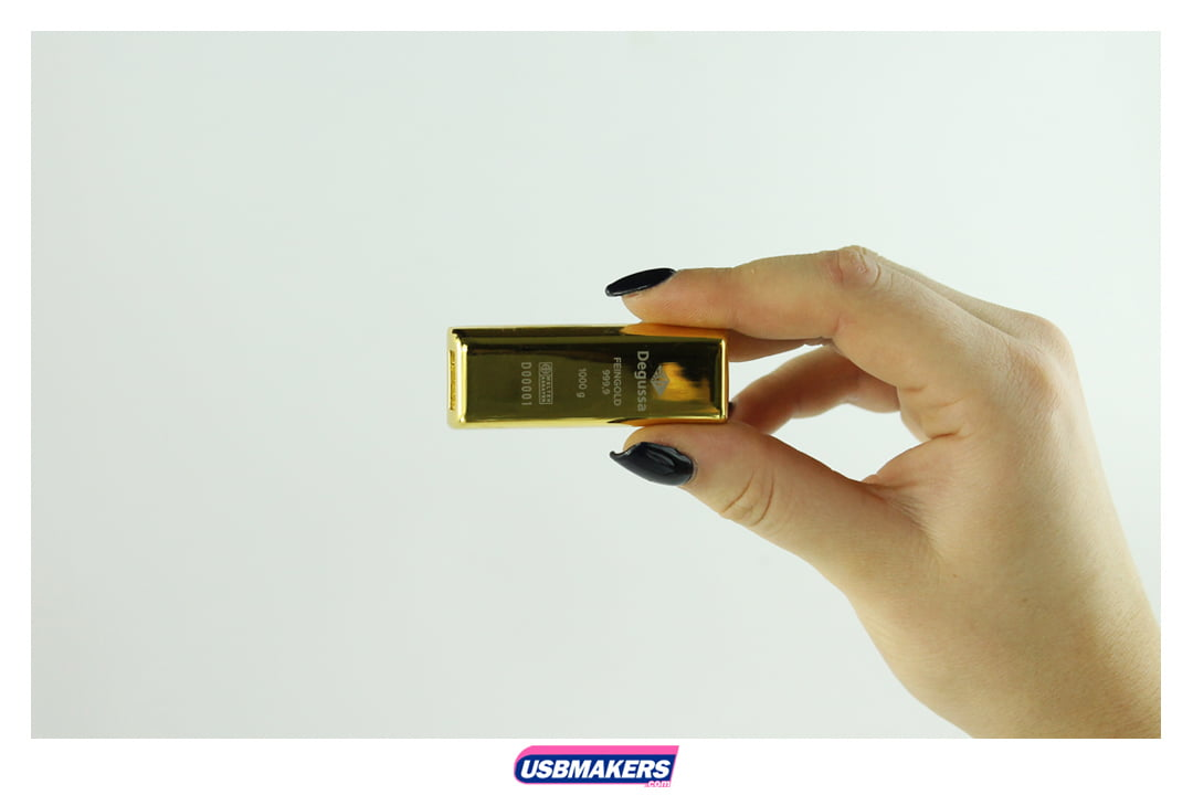 Gold Bullion Branded USB Memory Stick Image 3