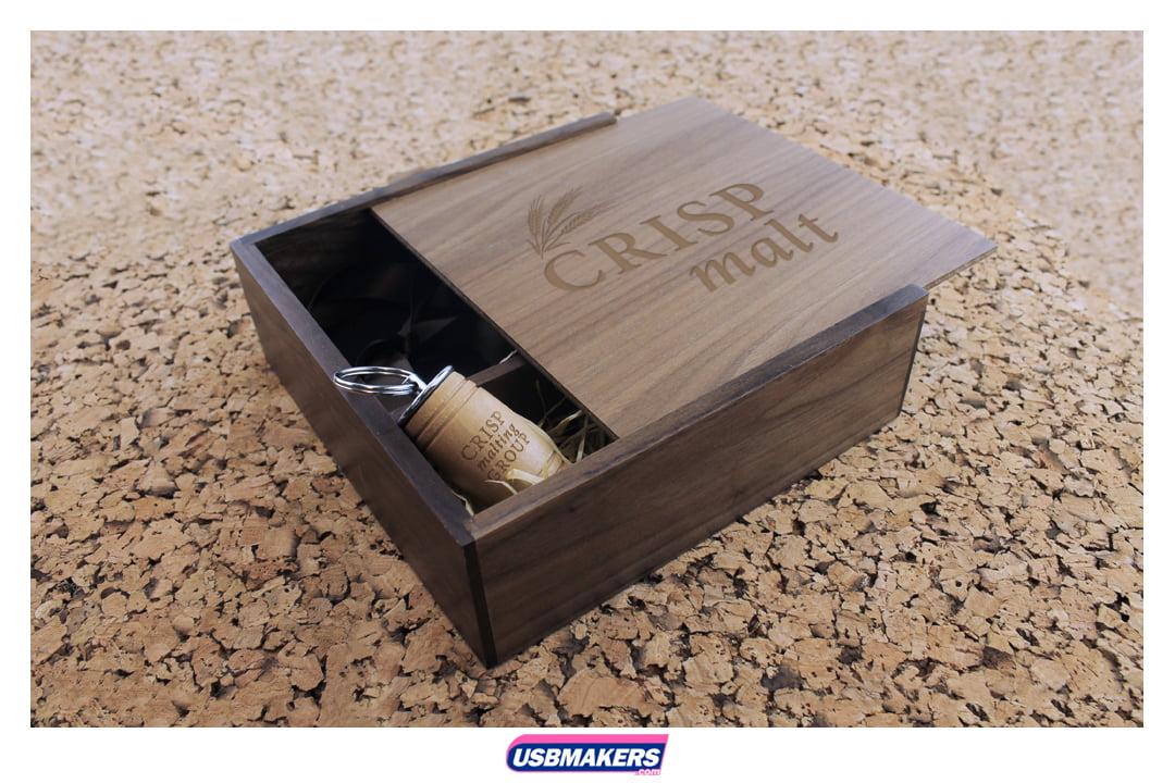 Oak Barrel Branded USB Memory Stick Image 2