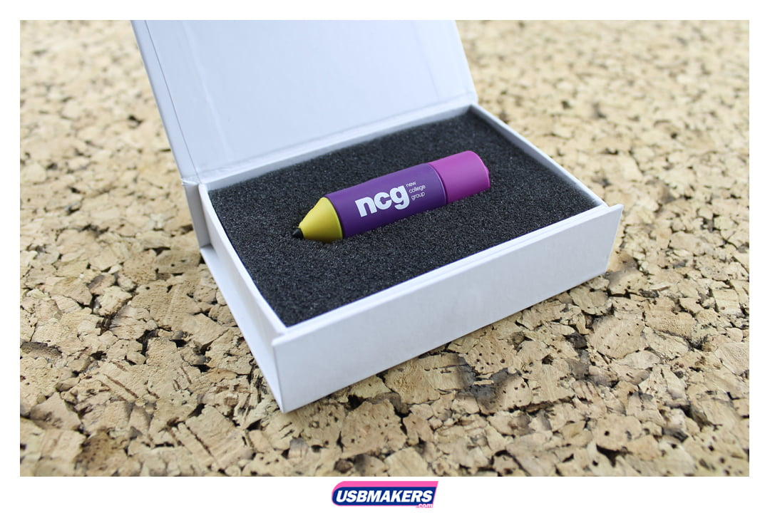 Pencil Branded USB Memory Stick Image 2