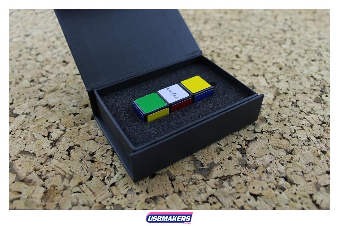 Rubix Cube Branded USB Memory Stick Image 2