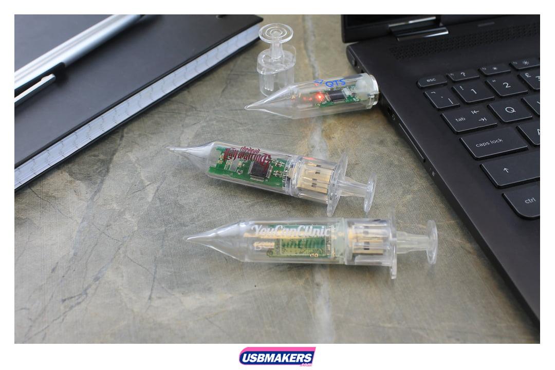 Syringe Branded USB Memory Stick Image 1
