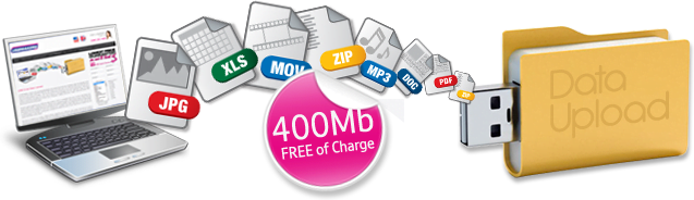 promotional usb drives pre-loaded data