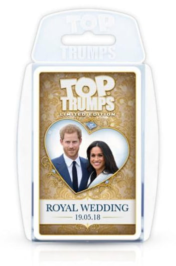 The limited edition Royal Wedding Top Trumps