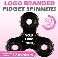 Logo Printed Fidget Spinners