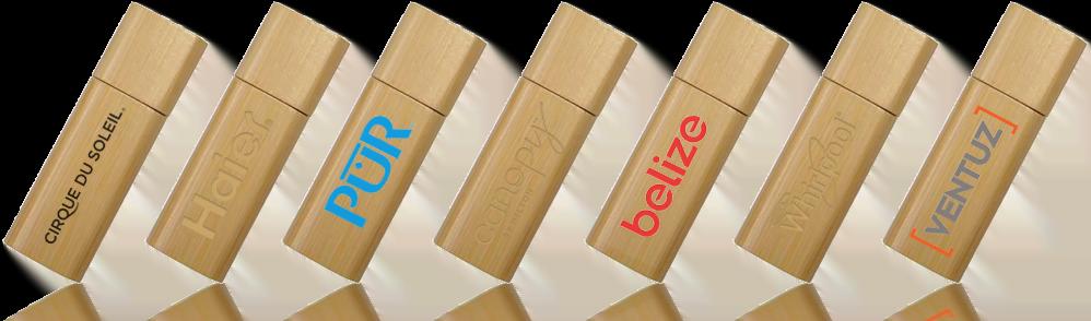 Wooden Stick USB Drive