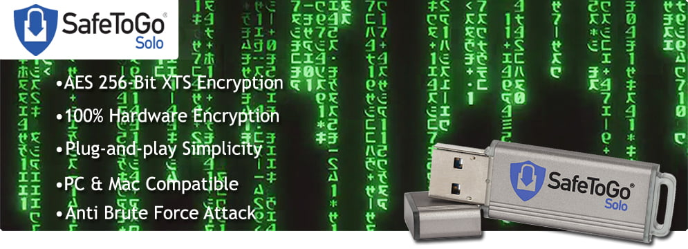 SafeToGo Solo USB Encrypted