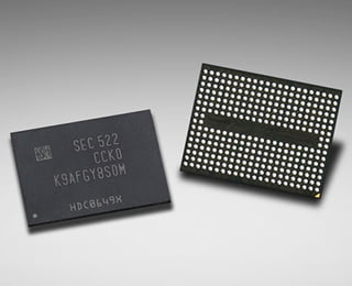 3D NAND Flash Chip Samsung