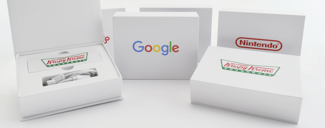 Logo Branded Power Bank Box