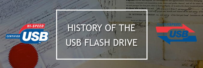 The History of the USB Flash Drive