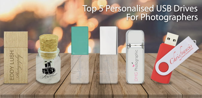Top 5 Personalised USB Flash Drives For Photographers