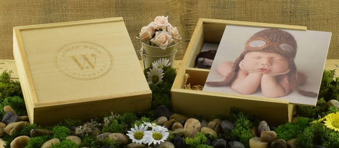 Branded USB Gift Boxes Wedding Photographers