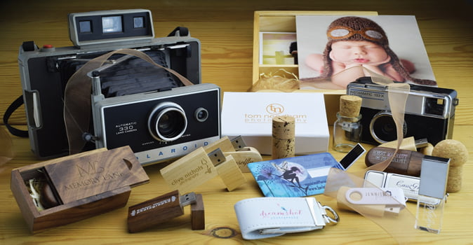 USB Flash Drives For Photographers