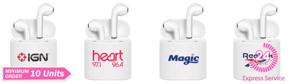 Logo Branded Ear Pods