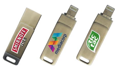 Kraken Iphone Lightning Branded USB Stick