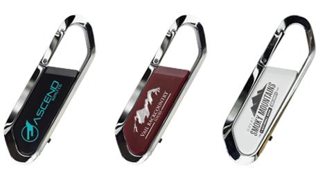Mini Carabiner USB Drive